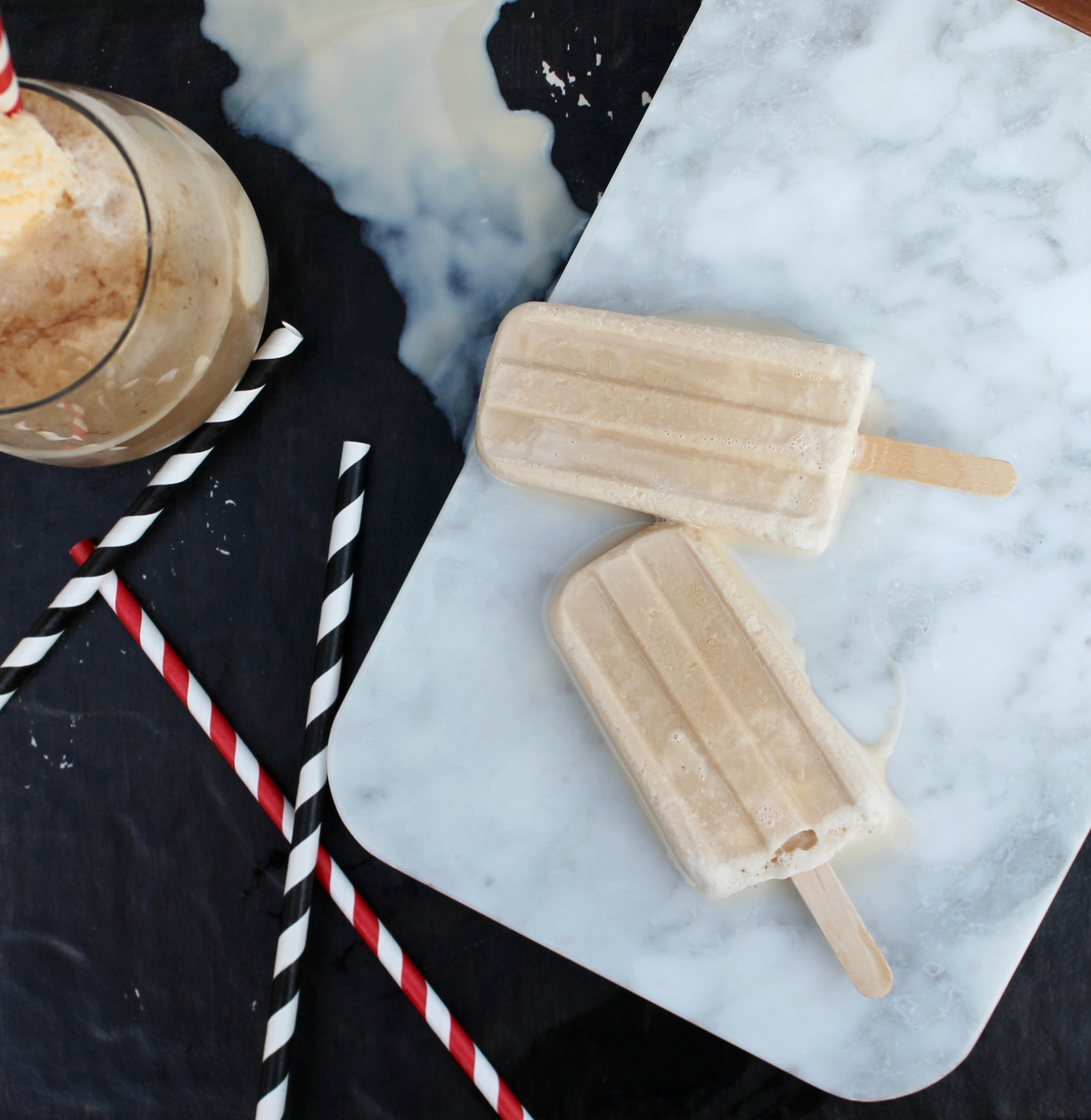 Why Is Root Beer Called Root Beer >> Root Beer Float Popsicles | Craft + Tell