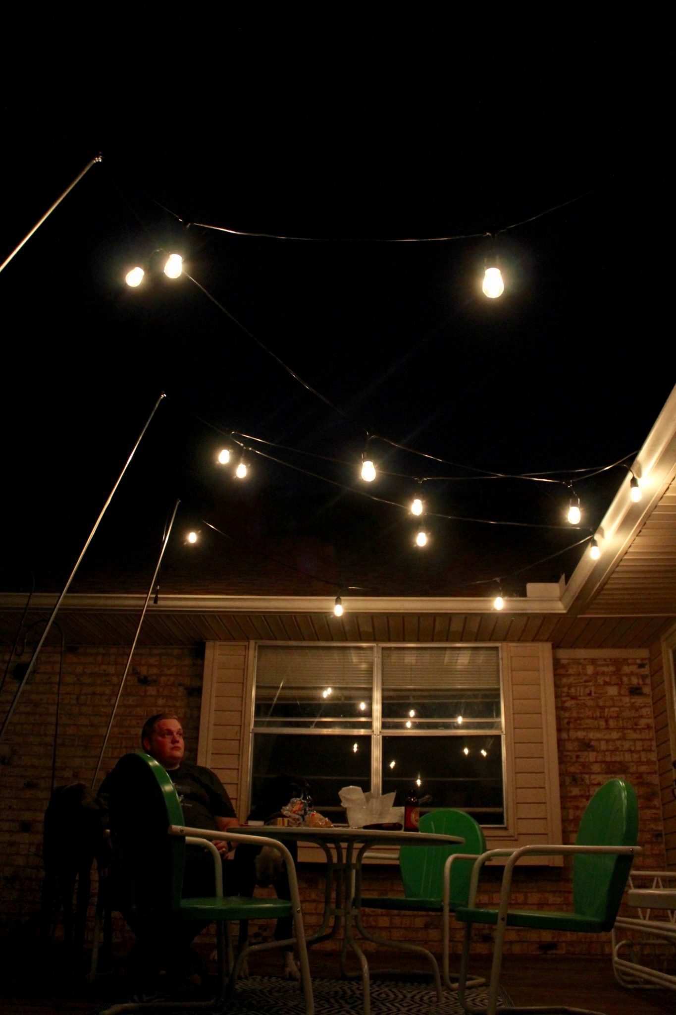 Picture of: Outdoor Lighting How To Hang Patio Lights The Easy Way